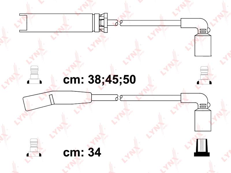 Провода высоковольтные. Lynx (SPE1803)