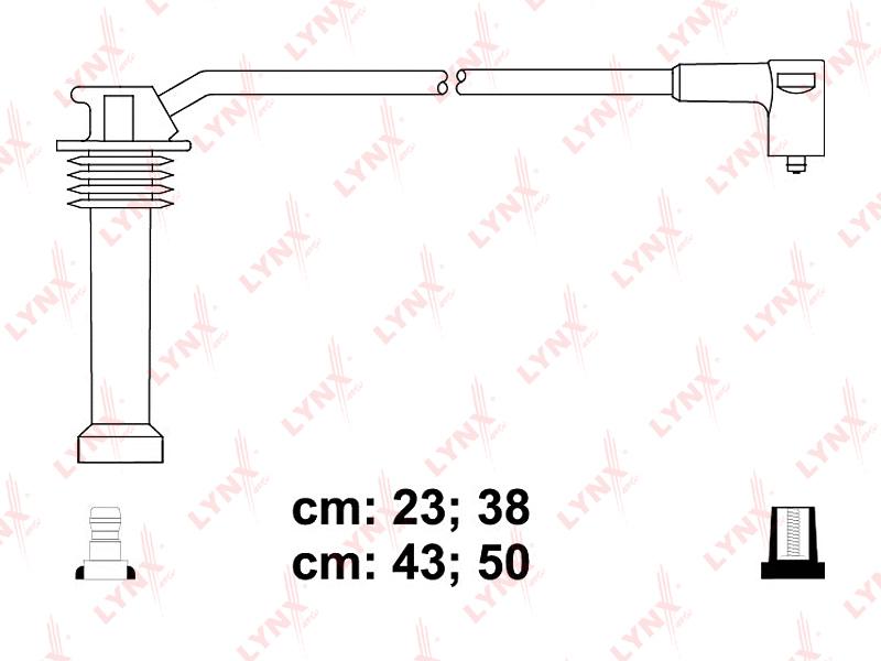 Провода высоковольтные. Lynx (SPE3011)