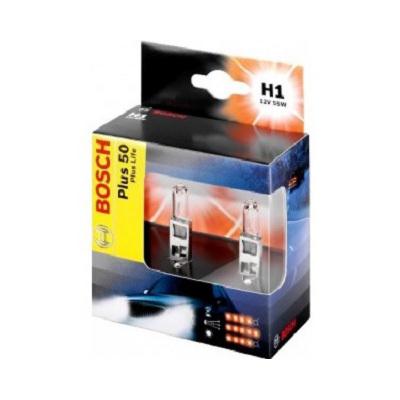 ЛАМПА H1 12 V 55 WPlus 50/60. Bosch (1987301084)