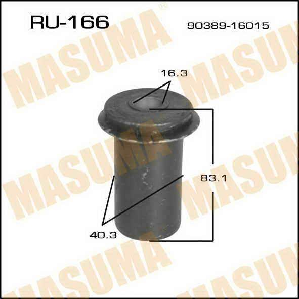 Сайлентблок  Masuma  Dyna /BU78,85/8,9#,202,212,222/ front рессора. (RU-166)