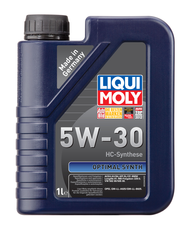 Liqui moly 39000 Масло моторное Optimal HT Synth 5W-30 1L