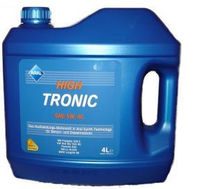 Aral масло High Tronic 5W-40 (synt) 4л.. ARAL (20634)