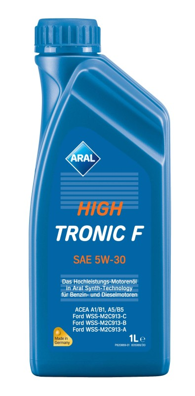 Aral масло High Tronic F 5W-30 (synt) 1л.. ARAL (10332)
