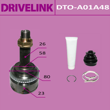 ШРУС DRIVELINK 23x58x26x48 (1/10). (DTO-A01A48)