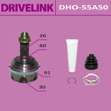 ШРУС DRIVELINK 30x60x26x50 (1/10). (DHO-55A50)
