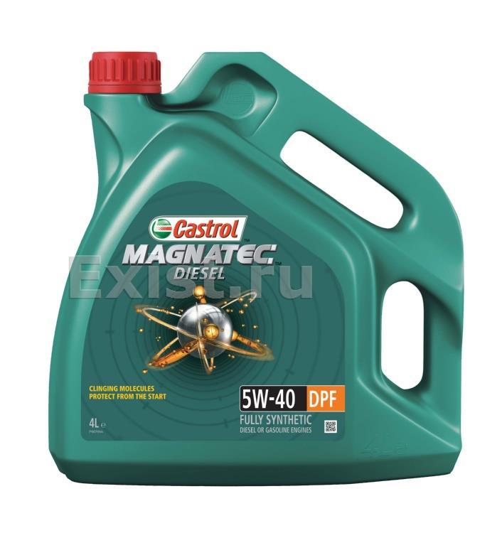 Castrol 153EF3 Magnatec Diesel 5W40 DPF, 4L NEW (масло моторное), шт