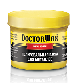 Doctor Wax DW8319 Паста для металлов DOCTOR WAX METAL POLISH
