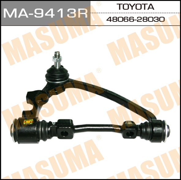 Masuma MA-9413R Рычаг верхний front up TOWNACE, LITEACE/ CR3#, YR3#, CM4# (R) (1/3) штучно